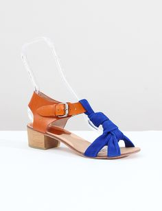A Detacher Coyne Sandals- Natural/Blue