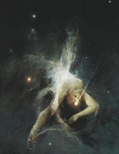 witold pruszkowski, soul mates, dream, stars, art, inspir, fall star, museum, 1884