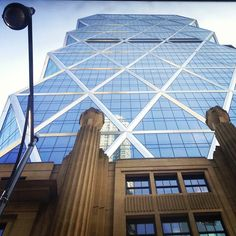 Looking up at Hearst Tower | May 2013 (Instagram photo by @misschrissa)
