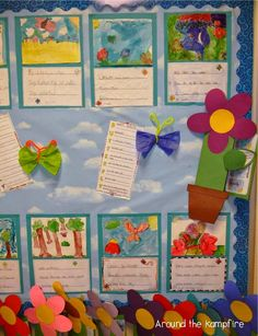 Poetry and Painting and Butterflies, Oh My! Writing poetry during our butterfly life cycle study.