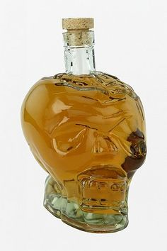 For your apple juice...Glass Skull Decanter #urbanoutfitters
