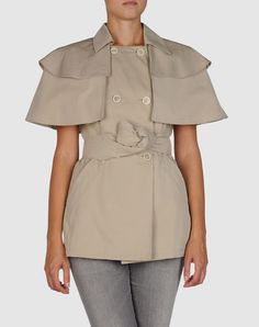 Really Cute Prada Cropped Trench