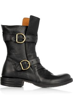Fiorentini & Baker Eternity buckled leather boots