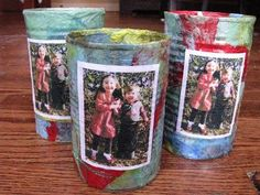 Make a Photo Pencil Holder for a gift for someone special