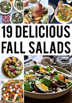 19 Delicious Fall Salads