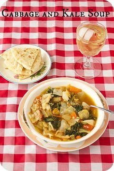 cabbage and kale soup, food, cabbage soup, vegan soup, cabbag soup