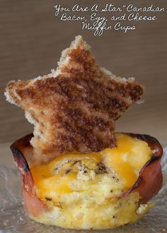 You are a Star Canadian #Bacon, Egg, and Cheese Muffin Cups. Great for a kids breakfast! #breakfast #recipes