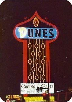 Old Las Vegas Casino Signs   Dunes Casino Las Vegas Neon Sign [Gallery 1 of 2] - a gallery on ...