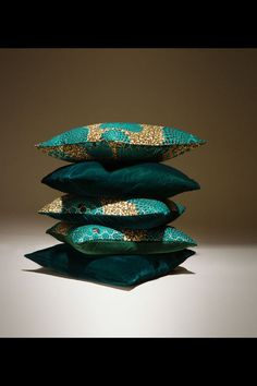 The Ofori collection. Exclusive to Arhinarmah London.  African cushions. Colourful cushion. Luxe decor.