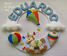 Ateliê do Bebê MG Guirlanda Bebê Menino