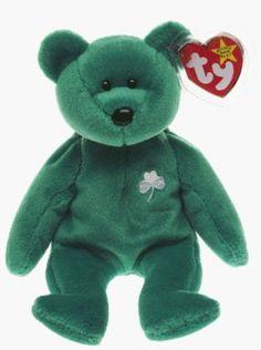 Ty Beanie Babies - Erin the Irish St Patricks Teddy Bear