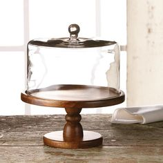 Abbington Domed Cake Plate//