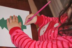 """Making Montessori Ours"": Montessori Inspired Writing Preparation & Christmas Activity"
