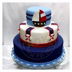 bolo marinheiro barquinho