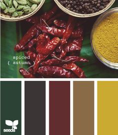 Spiced Autumn. Could be pretty with our new color for the living room at home!