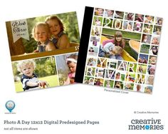 Photo a day Predesigned Pages!!  Wow!  This is wonderful... now to start on a new project!