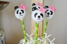 Panda Bear Tea Party via Kara's Party Ideas   Cake, decor, cupcakes, games and more! KarasPartyIdeas.com #pandabearparty #bearparty #pandapa... tea parti, panda cake, panda party decorations, cake pops, panda decorations, cakepop, anim parti, parti idea, panda parti
