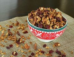 APPLE A DAY: Home for the Holidays Granola