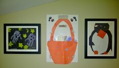 Cute Easter basket on the magnetic board combined with Lil Davinci Art Cabinets
