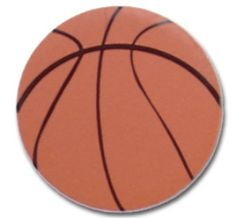 """8"""" Basketball could be used for table numbers. $4.40 each"""