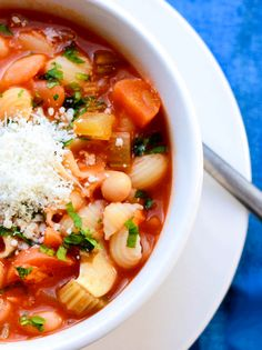 Pasta Fagioli - Erren's Kitchen -One of my signature dishes!