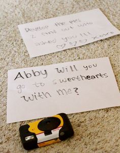 How to ask to a dance!