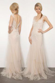sarah janks 2013 bridal briana antique ivory wedding dress