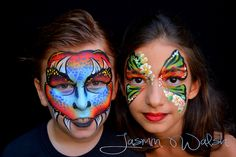 Kids Painted Faces