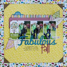 Fabulous Fall ~ Bella Blvd - Scrapbook.com