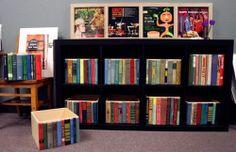 Bookshelf storage boxes, part II