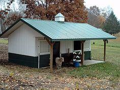 small livestock pole barn