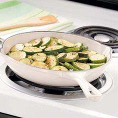 Garlic Oregano Zucchini Recipe http://pinterest.com/catholicspirit/lenten-meals/