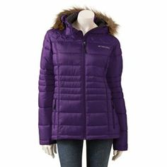 Columbia Sportswear Hooded Puffer Jacket