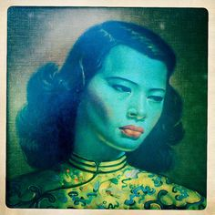 Tretchikoff by Candy Pop, via Flickr