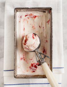 Tart Cherry Frozen Yogurt