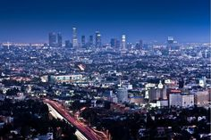 Los Angeles Cityscape <--love♥♥