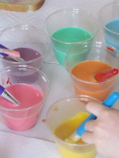 Cooking up rainbow toast    -  Pinned by @PediaStaff – Please Visit http://ht.ly/63sNt for all our pediatric therapy pins