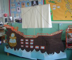 Pirate Ship classroom display