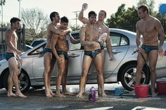 Who cares if they are gay! Hot men washing cars is as hot as it gets! Check out the Freshman Car Wash photo .. cute! #andrewchristian #underwear #gay #models #hot #carwash #yum #freshman