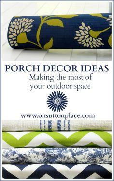 Porch Decor Ideas – How To Make the Most of Your Outdoor Space