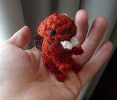 Teri Crews Designs: New Crochet Pattern, Simply Cute Beaver