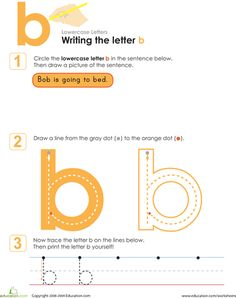 Learn to write letters