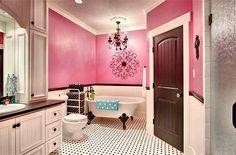 Brown An Pink Bathroom Florida Decor On Pinterest
