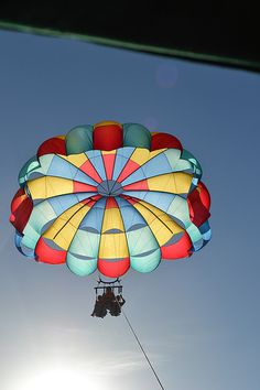 Parachuting - going to try to do before I die!