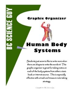 Graphic organizer to with Human Body Systems