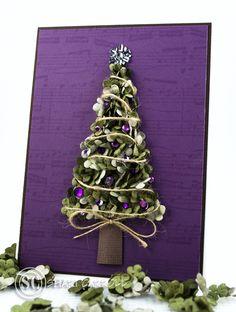 bitti flower, christma card, elegant christmas cards, flower tree, christma tree, tree card, beauti tree, prima flower, christmas trees