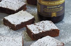 Belgian Beer Brownies from Man Made Meals: The Essential Cookbook for Guys by Steven Raichlen