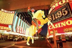 """""""Old Vegas""""--They have a cool light show at night!  Binions"""