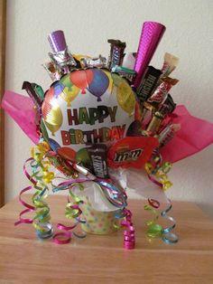 Birthday Candy Bouquet $15.00