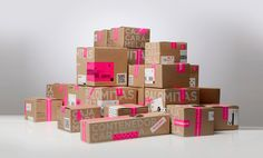 boutiqu, graphic, color combos, kraft paper, box, packag design, chocolate packaging, pretti packag, caramela